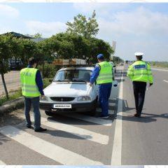 Acțiune a polițiștilor cu R.A.R. la Ardud. Patru certificate de înmatriculare au fost ridicate