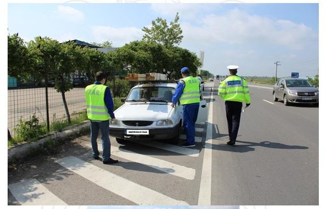 Acțiune a polițiștilor cu R.A.R. Satu Mare a continuat și ieri în județul Satu Mare