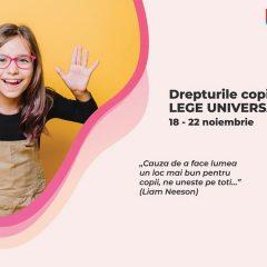 """,,Săptămâna Porților Deschise """", eveniment dedicat împlinirii a 30 de ani de la adoptarea Convenției asupra Drepturilor Copilului"""