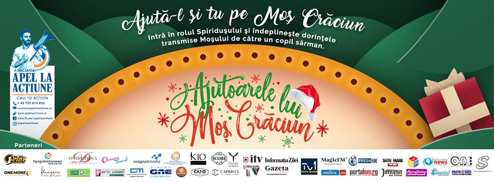 Ajutoarele lui Moș Crăciun se pregătesc să ofere sute de zâmbete și anul acesta copiilor nevoiași din Satu Mare