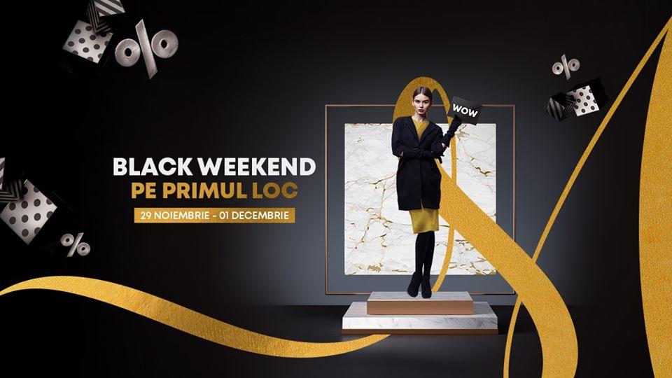 Black Weekend la Shopping City Satu Mare! Poți câștiga cele mai tari premii