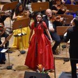 Laura Bretan a susținut un concert incendiar la Satu Mare