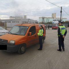 Acțiune de amploare a polițiștilor de la transporturi, ordine publică și poliție rutieră în județul Satu Mare