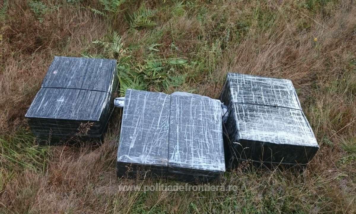 Aproximativ 16.000 de pachete cu țigări de contrabandă, confiscate la frontiera de nord a României
