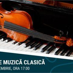 Concert de muzică clasică la deschiderea noului foodcourt din Aushopping Satu Mare