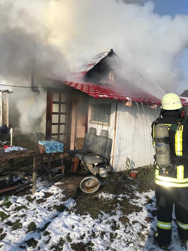 Incediu la o casă din Satu Mare