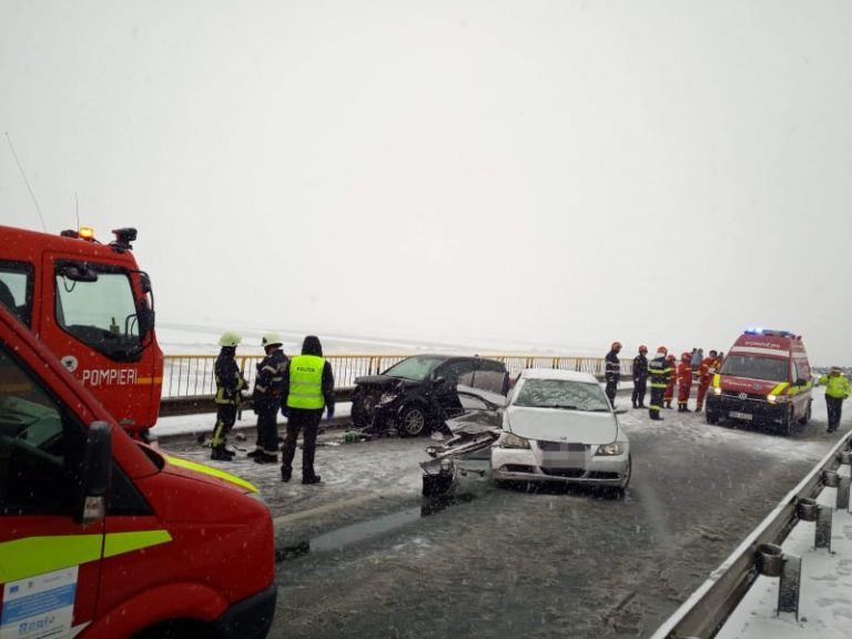 Ce spun polițiștii rutieri sătmăreni despre accidentul dintre localitățile Moftinu Mic și Păulian