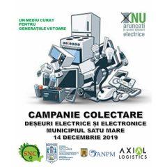 Campanie de colectare a deșeurilor electrice și electronice în municipiul Satu Mare