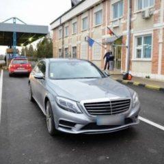 Mercedes căutat de autoritățile din Belgia, oprit la vama Petea
