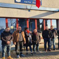 Șapte cetățeni turci opriți din drumul ilegal spre vestul Europei, pe raza localității Botiz