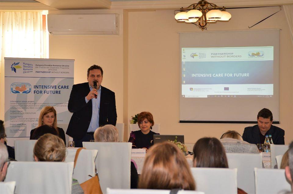 """Astăzi a avut loc conferința de deschidere a proiectului """"Intensive care for future"""""""