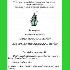 Lansarea noului volum semnat Hermann Szabolcs și masă rotundă, la Castelul din Carei
