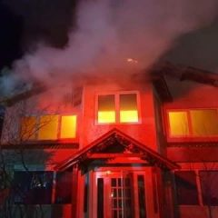 FOTO Incendiu de amploare în Ciuperceni