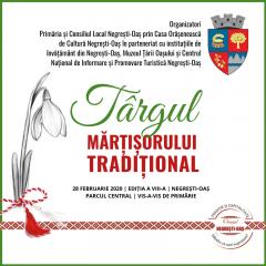 Târgul Mărțișorului Tradițional 2020 la Negrești-Oaș