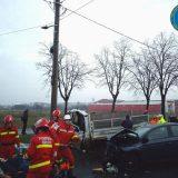 Accidentul de circulație de pe Drumul Careiului este cercetat de polițiștii rutieri