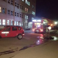 Incendiu la Spitalul Municipal Carei