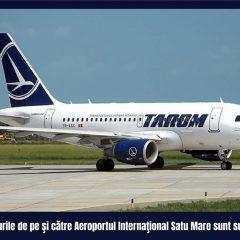 Wizzair și Tarom au suspendat zborurile de pe aeroportul din Satu Mare. Vedeți când se reiau acestea