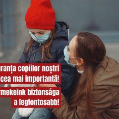 Copiii cu ambii părinți spitalizați din cauza noului coronavirus vor fi preluați de DGASPC
