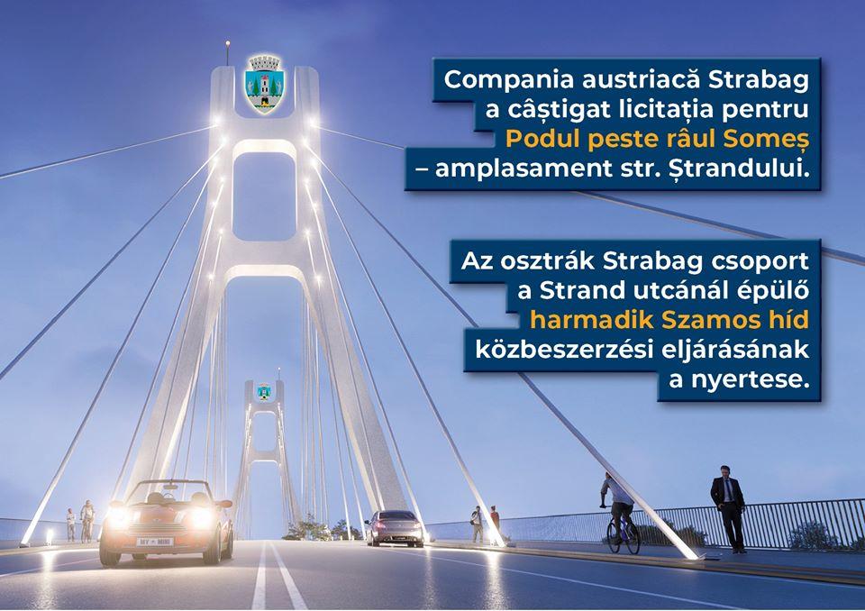 Primăria Satu Mare a finalizat procedura de achiziții pentru construcția unui pod peste râul Someș