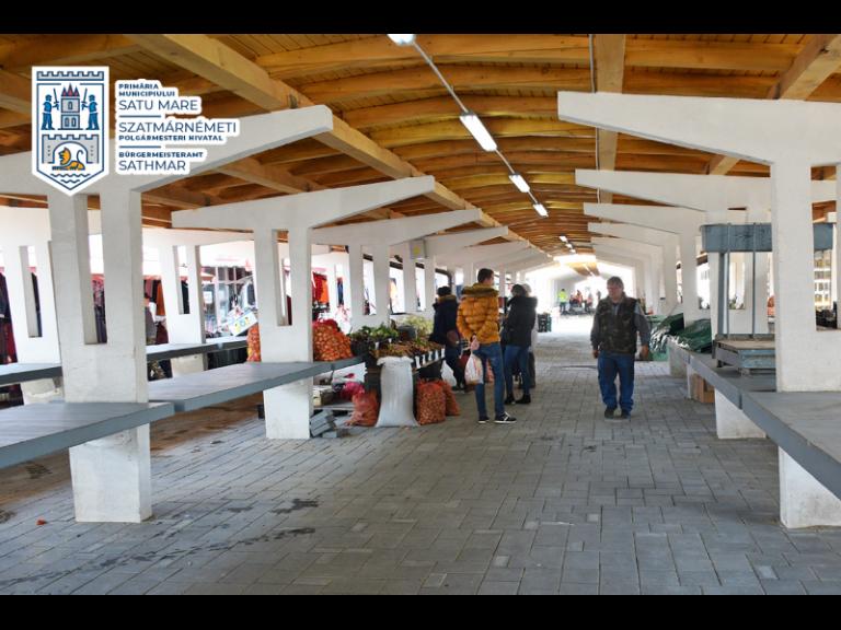Piețele din municipiul Satu Mare rămân deschise!
