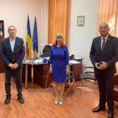 Prefectul Radu Bud a participat la instalarea noului inspector școlar general, Anișoara Boitor
