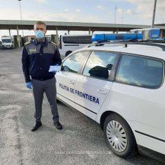 Doi polițiști de frontieră sunt în misiune la P.T.F. Hegyeshalom – Nikelsdorf, de la graniţa ungaro-austriacă