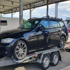 Autoturism furat din Belgia, descoperit la vama Petea