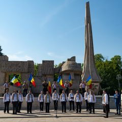 Ziua Imnului Național, marcată printr-un moment solemn, la Carei
