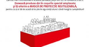 """Shopping City Satu Mare și dm drogerie markt lansează programul """"Banca de produse pentru părinți și copii"""""""