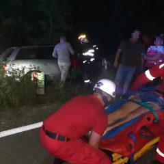 Accident rutier cu o victimă încarcerată, aseară în județul Satu Mare