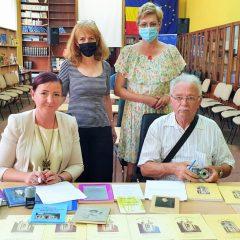 Donație de carte la Biblioteca Județeană Satu Mare