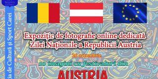 Ziua Națională a Austriei marcată printr-o expoziție online de imagini