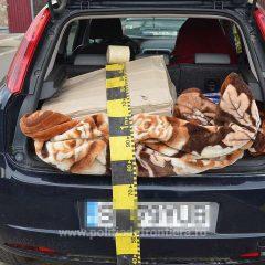 Un sătmărean a fost prins în localitatea Păulești cu 600 de pachete cu țigări de contrabandă în mașină