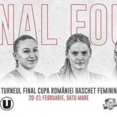 Baschet feminin: La Satu Mare va avea loc Turneul Final 4 Cupa României