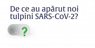 Ministerul Sănătății: De ce au apărut noi tulpini SARS-CoV-2?