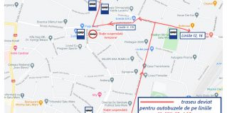 Vedeți cum vor circula autobuzele Transurban din cauza restricțiilor rutiere din municipiul Satu Mare