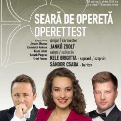 Seară de operetă la Filarmonica de Stat Dinu Lipatti