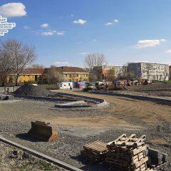 FOTO Proiectul privind transformarea zonei Cubic în cel mai mare parc din Satu Mare prinde contur