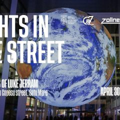 Pământul suspendat, o instalație luminoasă creată de Luke Jerram, ajunge în premieră și la Satu Mare