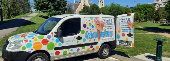 Înghețata copilăriei revine la Satu Mare! Urmărește Mașina cu Buline