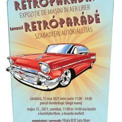 Expoziție de mașini de epocă în cadrul evenimentului RETRO PARADA PRIMĂVERII 2021