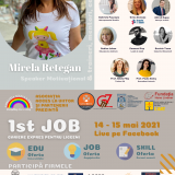 1.536 de tineri sătmăreni, 16 licee, 15 firme participante, sute de oferte și oportunități de carieră la 1st Job – Cariere Express pentru Liceenii Sătmăreni