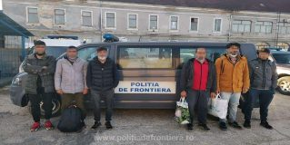 Poliţiştii de frontieră sătmăreni au depistat şase cetăţeni din Afganistan