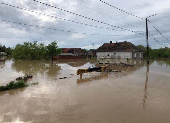 Cod roșu de inundații în județul Satu Mare